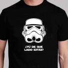 """Camiseta """"Cual es tu lado"""""""