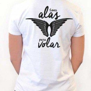 "Camiseta ""Alas para volar"""