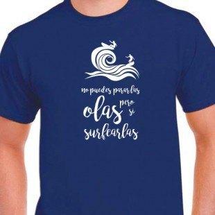 """Camiseta """"Surfea las olas"""""""
