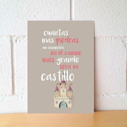 "Lámina ""Castillo más grande"""