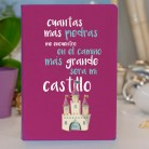 """Libreta molona (prodiskine) """"Gran castillo"""""""