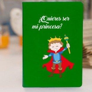 """Libreta molona (prodiskine) """"Mi princesa"""""""