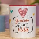 "Taza molona ""Huele a verano"""