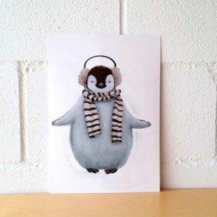 "Lámina original ""Pingui"""