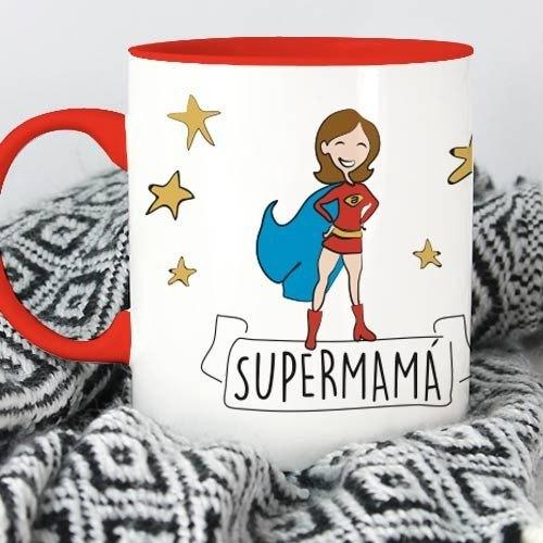 """Taza molona """"Supermamá"""""""