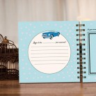 Álbum personalizado de bodas y viaje de novios