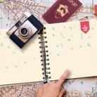 Álbum de viajes personalizado