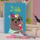 "Cuaderno molón ""Yo molo"""