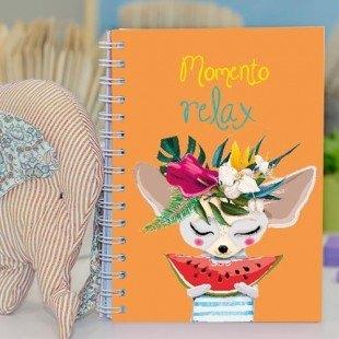 """Cuaderno molón """"Momento relax"""""""