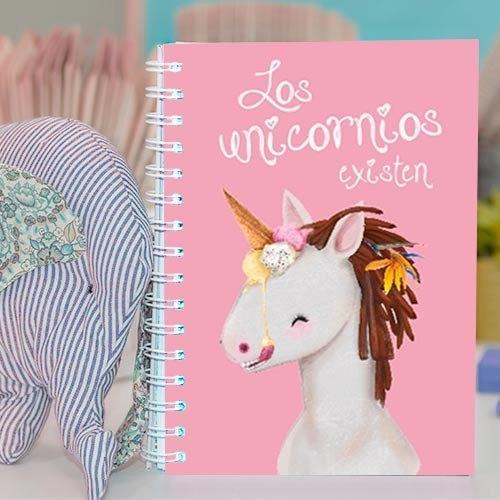 """Cuaderno molón """"Los unicornios existen"""""""