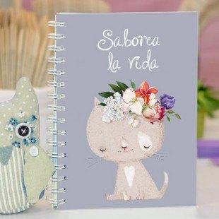 """Cuaderno molón """"Saborea la vida"""""""