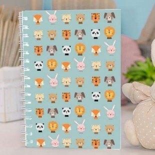 """Cuaderno molón """"Animales"""""""
