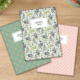 "Pack de 3 libretas ""Decorativo"""