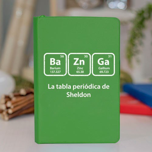 Libreta prodiskine Big Bang Theory