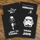 """Pack de 4 Libretas prodiskines """"Colección Star Wars"""""""