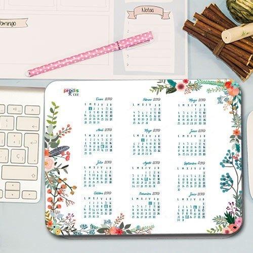 "Alfombrilla de ratón ""Calendario 2019"""