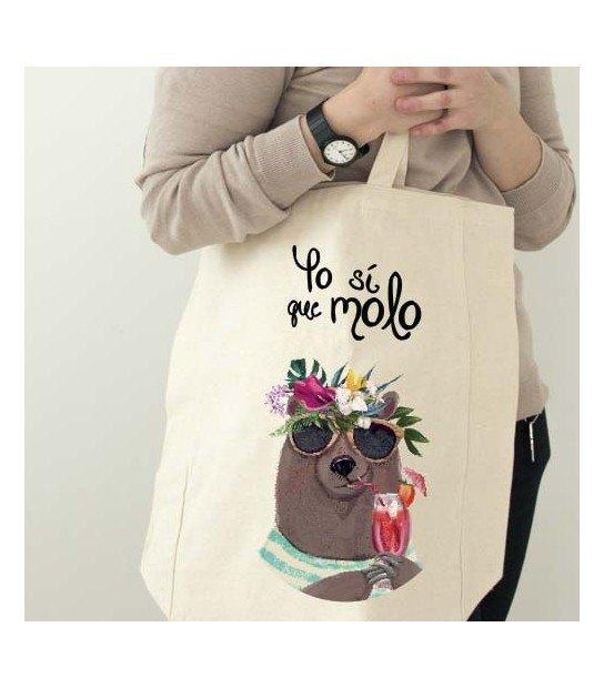 Bolsa Playera Yo Molo
