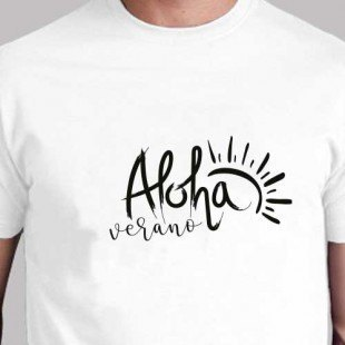 """Camiseta """"Aloha"""""""