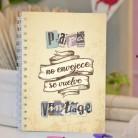 "Cuaderno artesanal ""Papá vintage"""