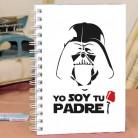 """Cuaderno tapa dura """"Soy tu padre"""
