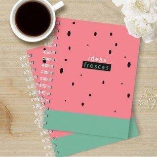 """Cuadernos de bolsillo """"Ideas frescas"""""""