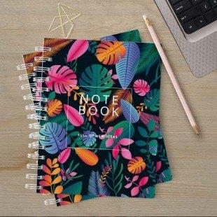 """Cuaderno bolsillo """"Plantas"""""""