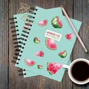 """Cuadernos de bolsillo """"Momentos naturales"""""""