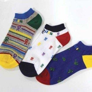 Pack de tres pares de calcetines tobilleros