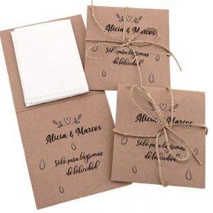 Pañuelos para bodas solidarias