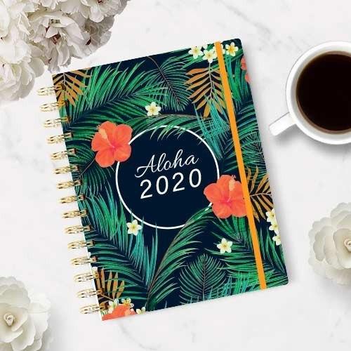 Agenda solidaria escolar y anual 2019 - 2020 Aloha