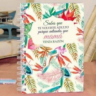 """Cuaderno molón """"Mamá"""""""