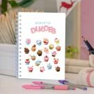 """Cuaderno molón """"Momentos dulces"""""""