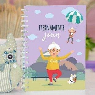 "Cuaderno molón ""Abuela joven"""