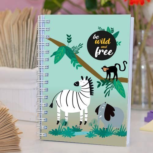"""Cuaderno molón """"Born to be wild"""""""