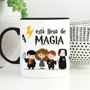 "Taza molona ""Vida de magia"""