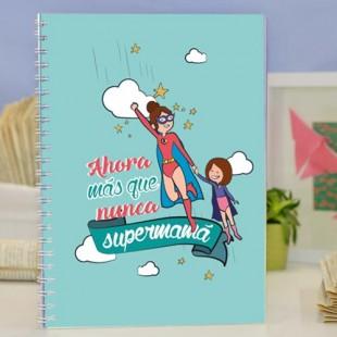 """Cuaderno molón """"Supermamá más que nunca"""