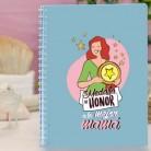 """Cuaderno molón """"Medalla de honor mejor madre"""""""