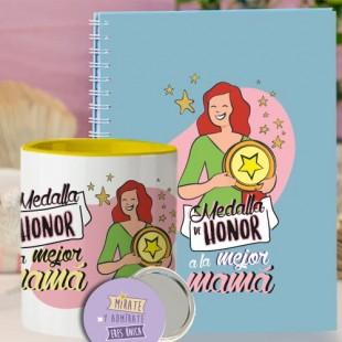 """Pack ahorro """"Medalla de honor madres"""""""