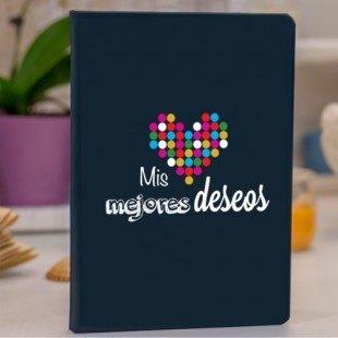 "Libreta personalizada (prodiskine) ""Mis mejores deseos"""