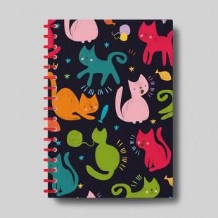 """Cuaderno molón  """"Gatos"""""""