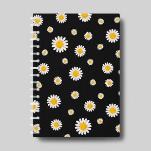 """Cuaderno molón """"Margaritas"""""""