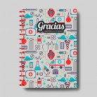"""Cuaderno molón  """"Sanitarios"""""""