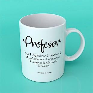 "Taza chula ""Profesor"""