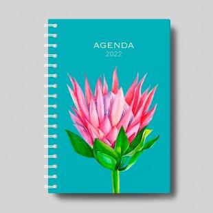 Agenda solidaria escolar y anual 2021-2022 - Flor