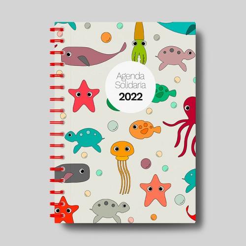 Agenda solidaria escolar y anual 2021-2022 - Pulpos