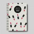 Agenda solidaria escolar y anual 2021-2022 - Pintalabios