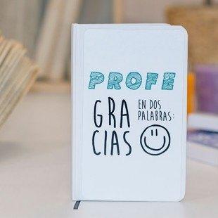 "Libreta molona ""Gracias profe"""