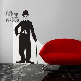 "Vinilo decorativo ""Chaplin"""
