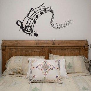 """Vinilo decorativo """"Notas musicales"""""""