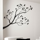 "Vinilo decorativo ""Ramas de árbol"""